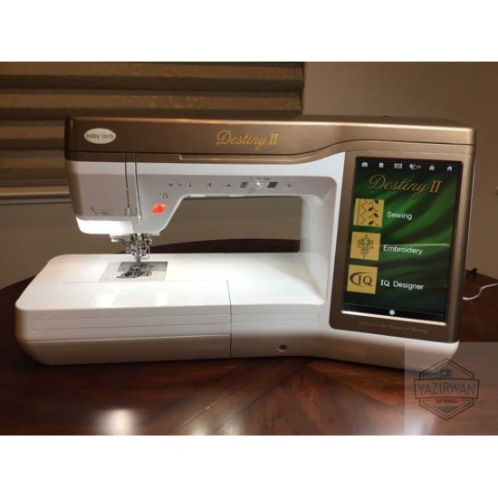 Baby Lock Destiny 2 Ii Sewing Embroidery Quilting Machine
