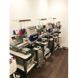 Avance 1501C Single Head -15 Needles Compact Embroidery Machine