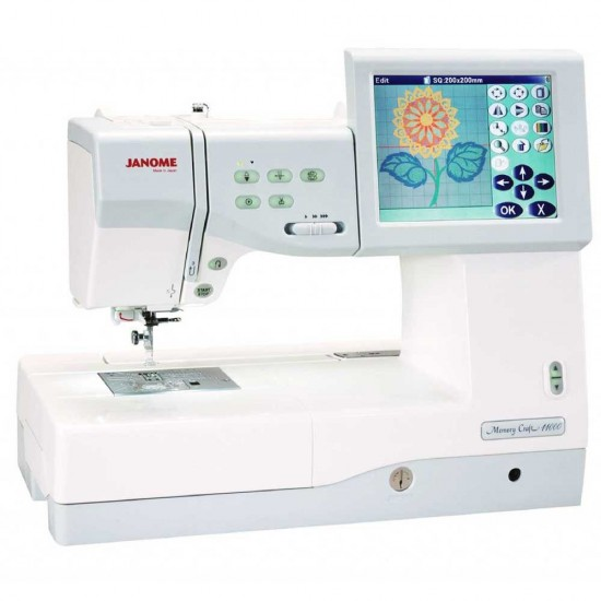 Janome Memory Craft 11000 Special Edition Sewing, Quilting, & Embroidery Machine