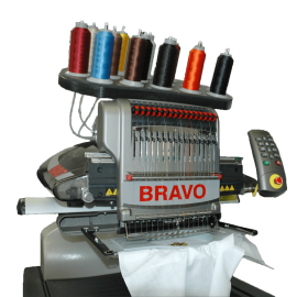 Melco Bravo 16 Needle Professional Embroidery Machine