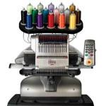 Melco Amaya XT 16 needle embroidery machine