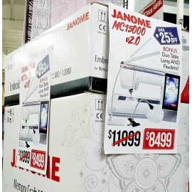 Janome Horizon Memory Craft 15000 V2 Sewing Quilting Embroidery Machine